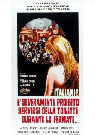 Italiani! È Severamente Proibito Servirsi Della Toilette Durante Le Fermate